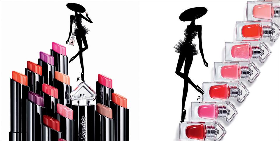 e9d6b8ba1e7 Guerlain s La Petite Robe Noire Makeup Line