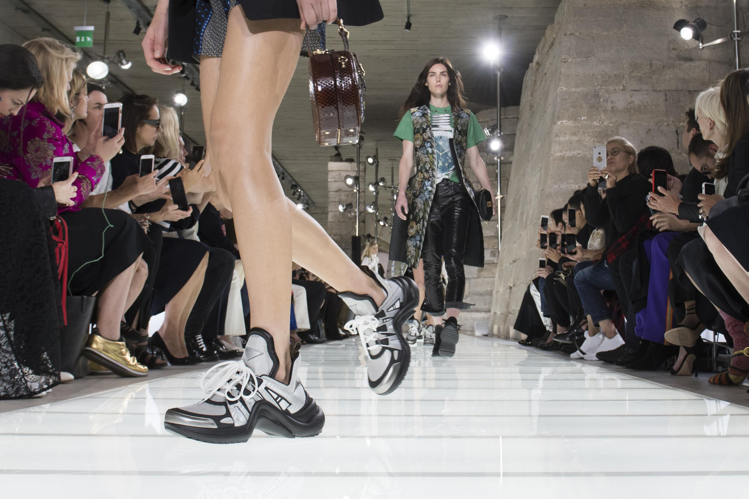 95c2246e64d5 Louis Vuitton Closes Paris Fashion Week with a Parade of Aristocratic  Sneakerheads