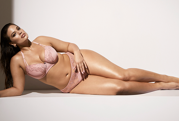 2cd2836fe Ashley Graham Releases a Sexy Plus-Size Lingerie Collection Just in Time  for Valentine s Day