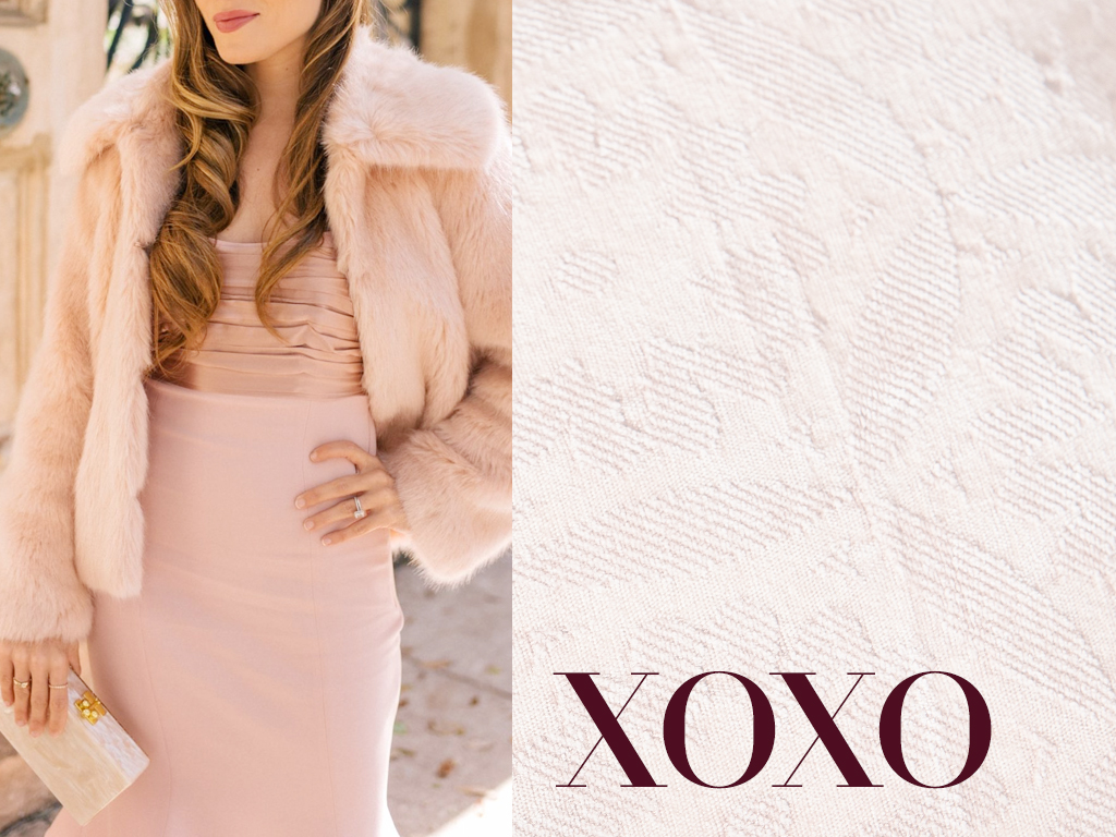 #OOTD: Faux Fur & Rosey Hues Call for a Candlelit Dinner with Bae