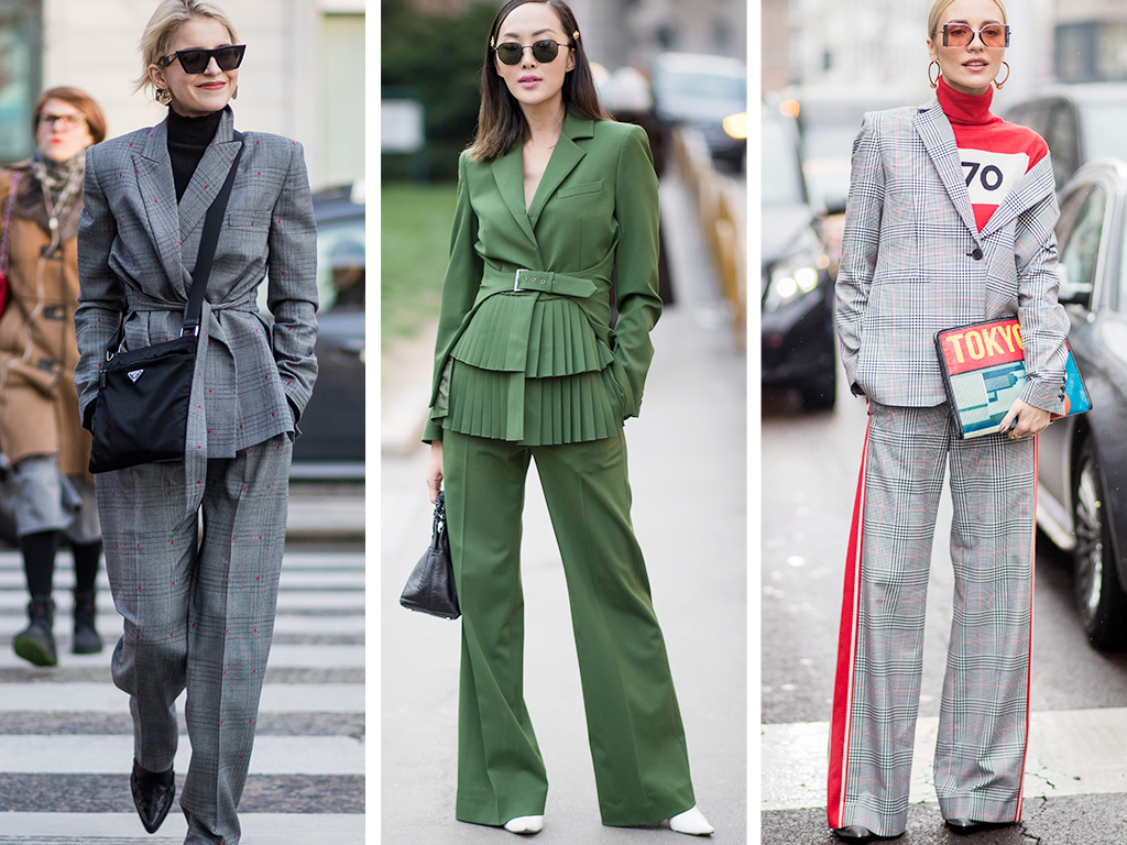 The Street-Style Crowd Wore All Sorts of Suits on Day 2 of Milan Fashion Week – Rue Now