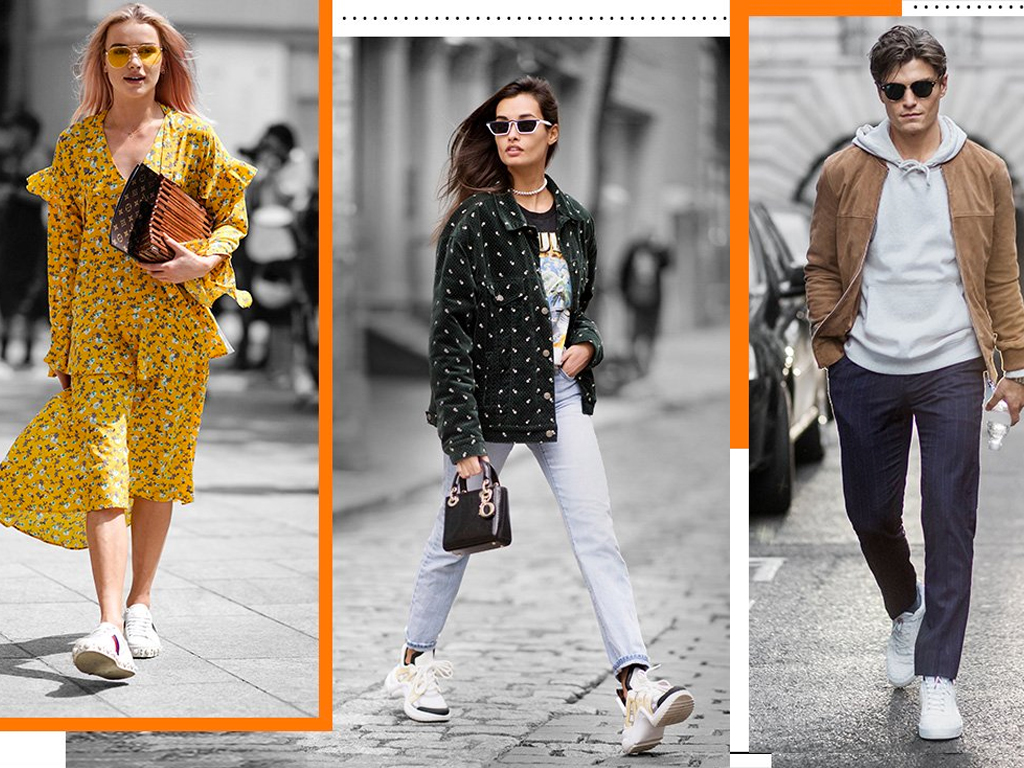 4 Ways to Style Fashion Sneakers (Trust Us, It's Easier Than You Think)