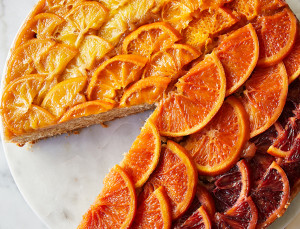Love to Bake? Make This Ombré Citrus Upside-Down Cake