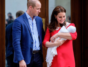 Kate Middleton and Prince William Have Named the Royal Baby!