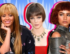 20 A-List Examples of Perfectly Cut Blunt Bangs