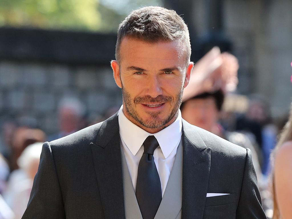 David Beckham Attended the Royal Wedding Wearing Kim Jones's First Dior Homme Designs