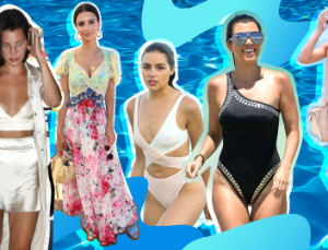 30 Celebrity Vacation Outfits to Inspire Your Summer Travel Style