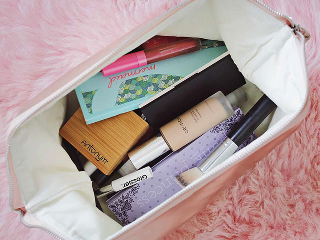 How to Expertly Pack Beauty Products for a Flight