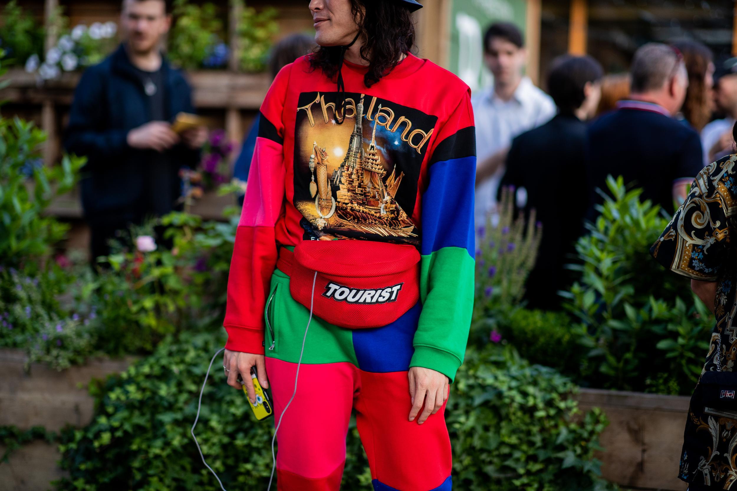 Fanny Pack Street Style Favorite London Fashion Week Men's