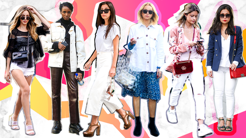 The Trendiest White Denim Pieces to Shop This Season