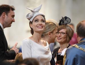 Angelina Jolie Went Full Kate Middelton at a Royal Event
