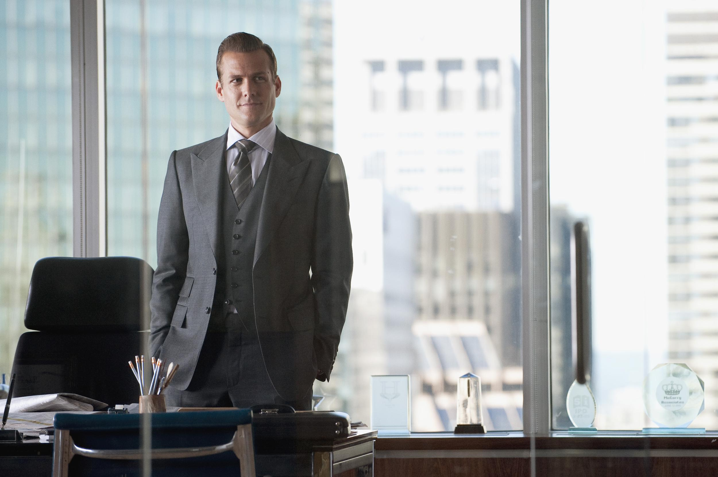 Why Harvey Specter: How to Dress Like the Sharpest Man on TV