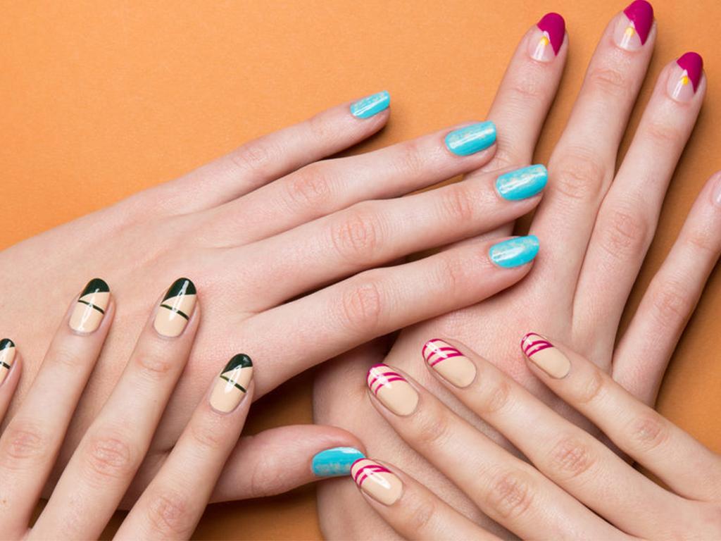 11 Nail Art Ideas to Make Short Nails Look Longer