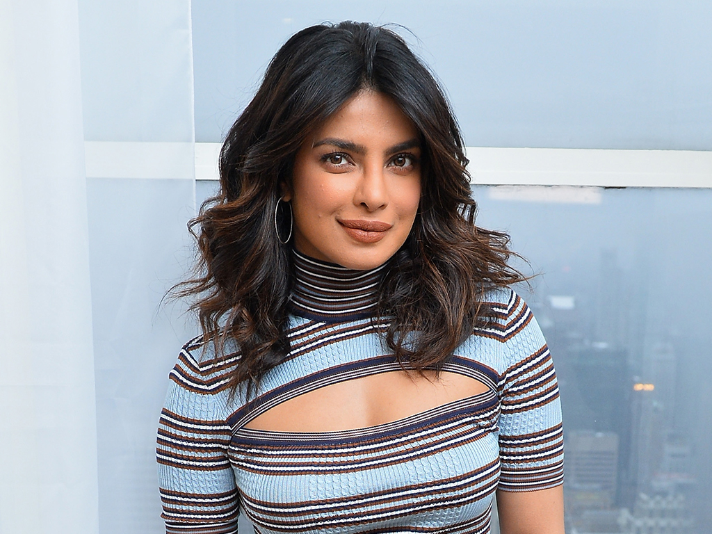 How Priyanka Chopra's Hairstylist Uses This Makeup Brush to Tame Flyaways