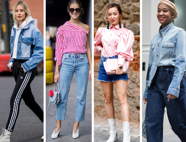 11 Unexpected (But So Cool) Ways to Wear Your Denim Pieces