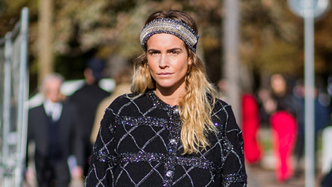 The Street Style Guide to Wearing a Headband (Without Looking Totally Juvenile)