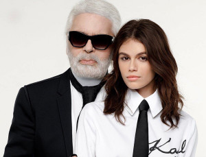Karl Lagerfeld & Kaia Gerber Are Dropping a Trés Chic Capsule Collection