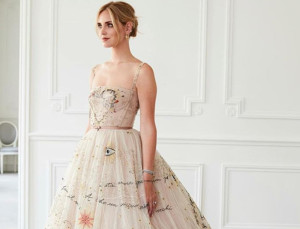 Chiara Ferragni Wore Two Dior Gowns For Her Wedding to Fedez