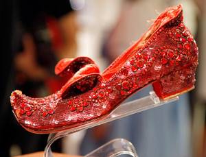 Um, Judy Garland's Stolen 'Wizard of Oz' Slippers Were Finally Recovered After 13 Years