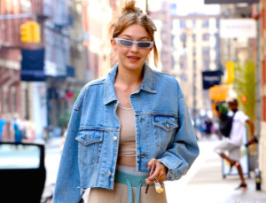 Gigi Hadid's Airport Outfit Probably Looks a Lot Like Yours