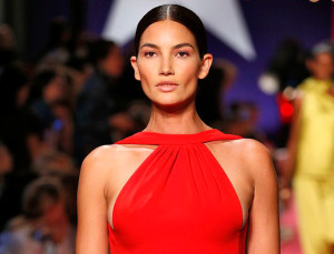 Lily Aldridge Walked NYFW Five Months Pregnant