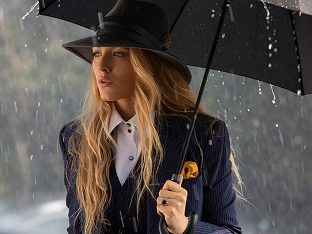 OMG, Blake Lively's 'A Simple Favor' Engagement Ring Was Inspired by Princess Diana