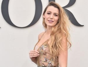 Blake Lively Makes Shapewear Look Chic at Paris Fashion Week