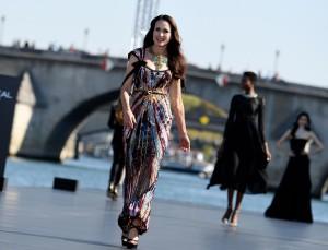 60-Year-Old Andie MacDowell Shut Down the Runway During Paris Fashion Week