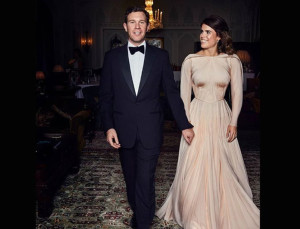 Princess Eugenie's Second Wedding Dress Will Make Your Jaw Drop