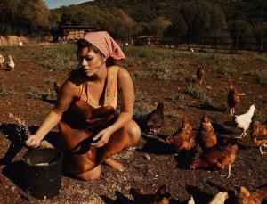 Ashley Graham Goes Farmyard Chic for 'Vogue Paris'