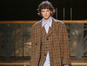 Why a Check Coat Is This Winter's Essential Purchase