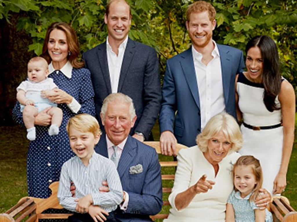 We Can't Stop Looking at the Royal Family's Brand-New Portrait