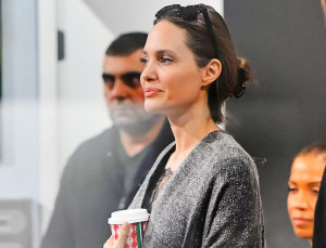 Angelina Jolie Makes a Case for Blankets as Clothes