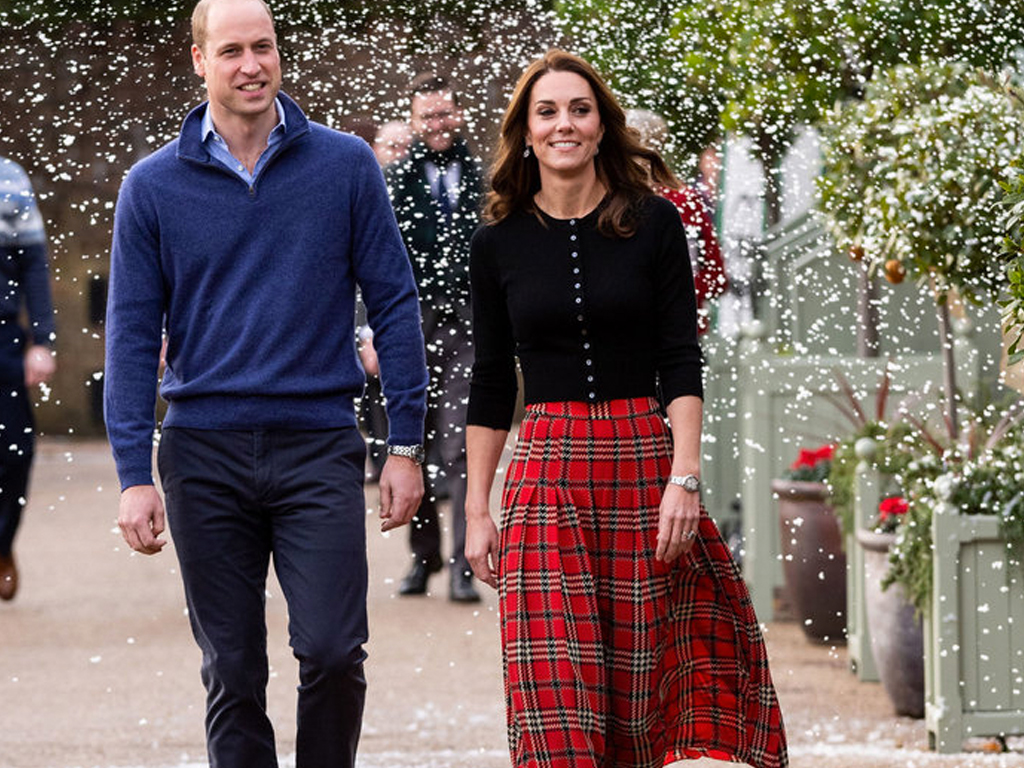 This Is How Kate Middleton Dresses for a Christmas Party