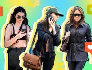 10 Celebrities' Signature Selfie & Instagram Poses We Never Even Noticed