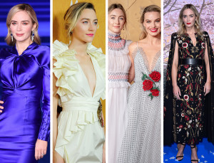 Award-Winning Looks from 3 Stars of the Silver Screen