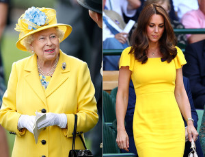 8 Times Kate Middleton and Queen Elizabeth Were Style Twins