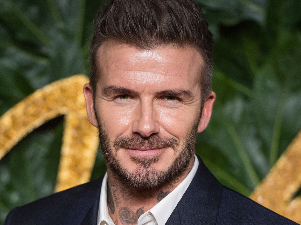 David Beckham Is Now Setting Eyeshadow Trends