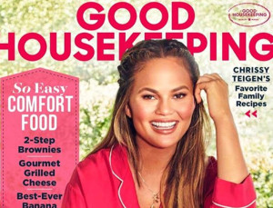 Chrissy Teigen Wore Pajamas on the Cover of 'Good Housekeeping' Because Why Not?