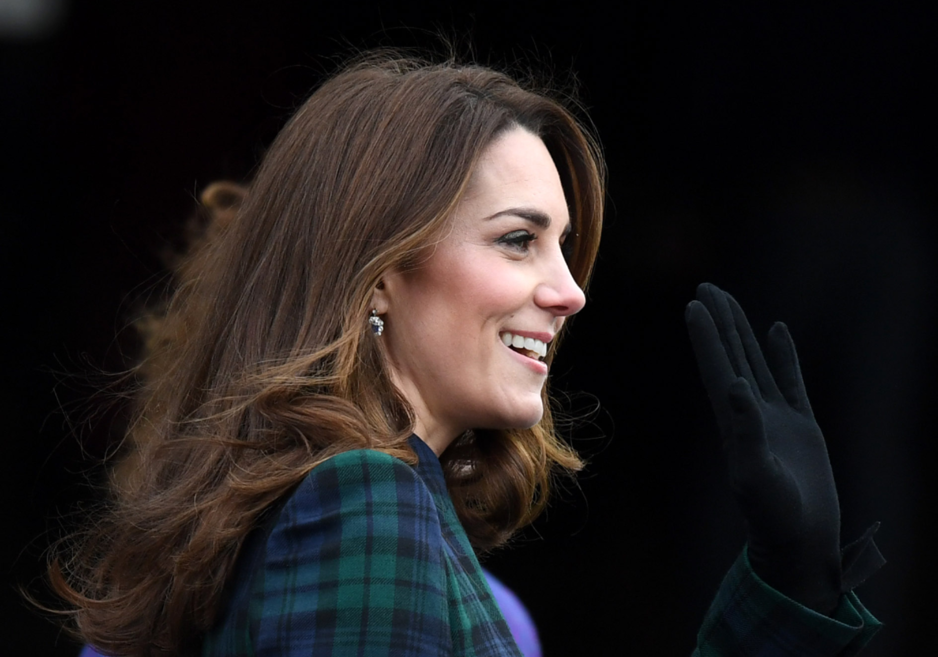 Kate Middleton's Alexander McQueen Tartan Coat Dress Re-Emerges from Her Closet After Seven Years