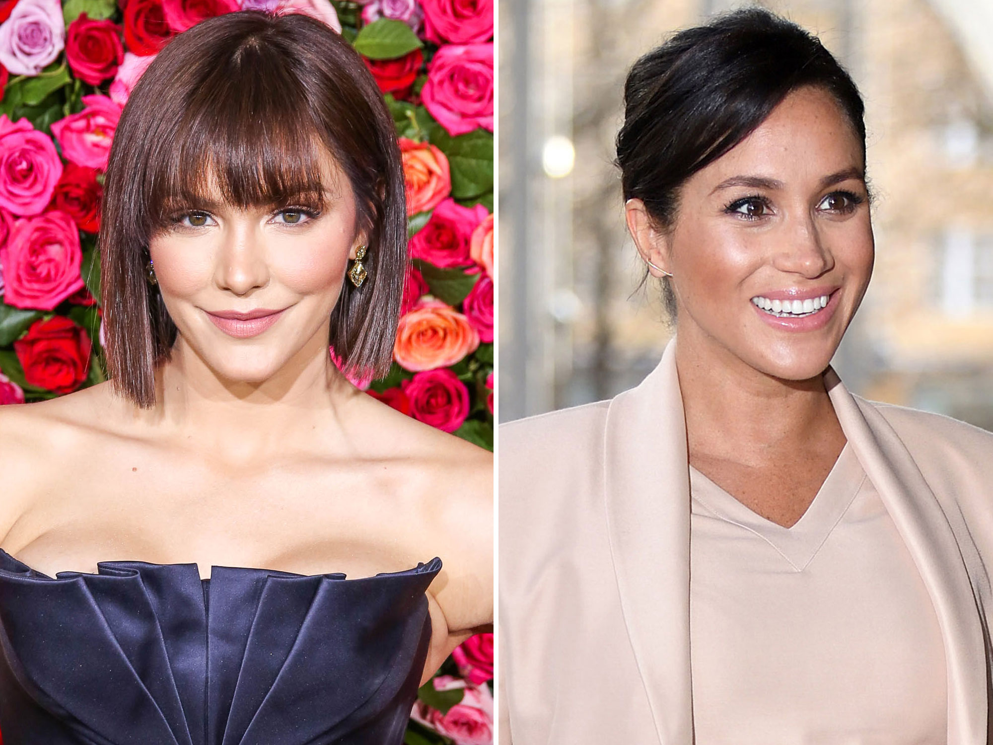 Meghan Markle Is Unrecognizable in This Throwback Photo with Katharine McPhee