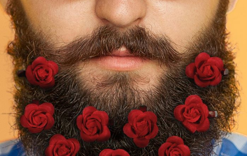 Beard Bouquets Exist and, Yes, They're Just What They Sound Like