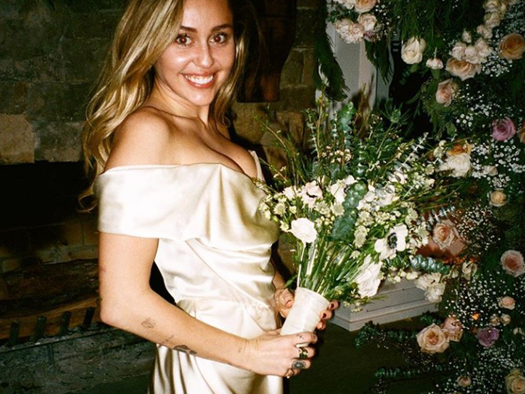 Miley Cyrus Basically Posted an Entire Wedding Album on Instagram