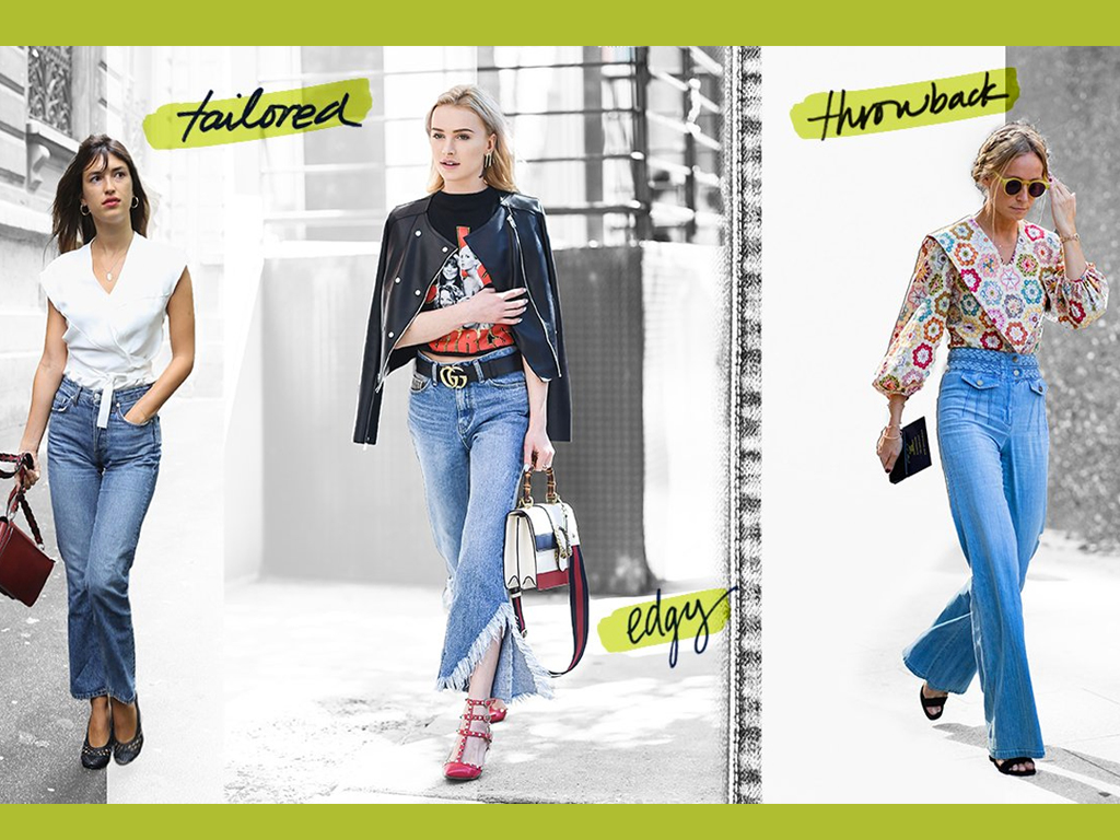 3 Denim Trends Your Spring Wardrobe Needs