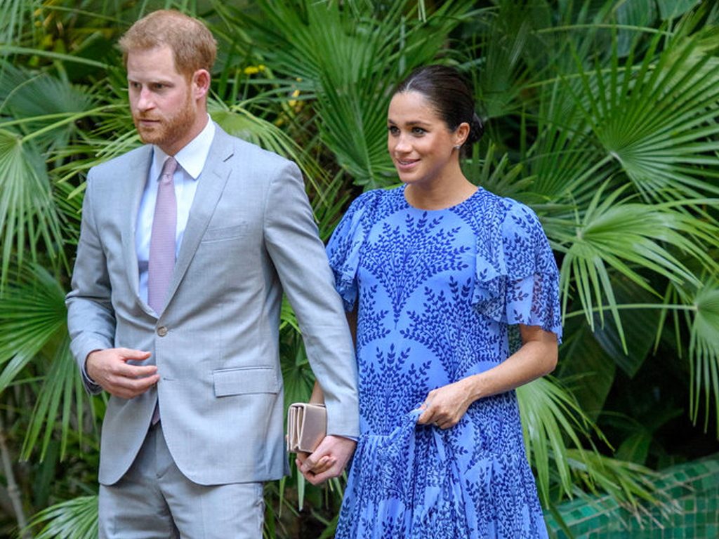 Meghan Markle Totally Broke Her Maternity Style Formula in This Carolina Herrera Dress