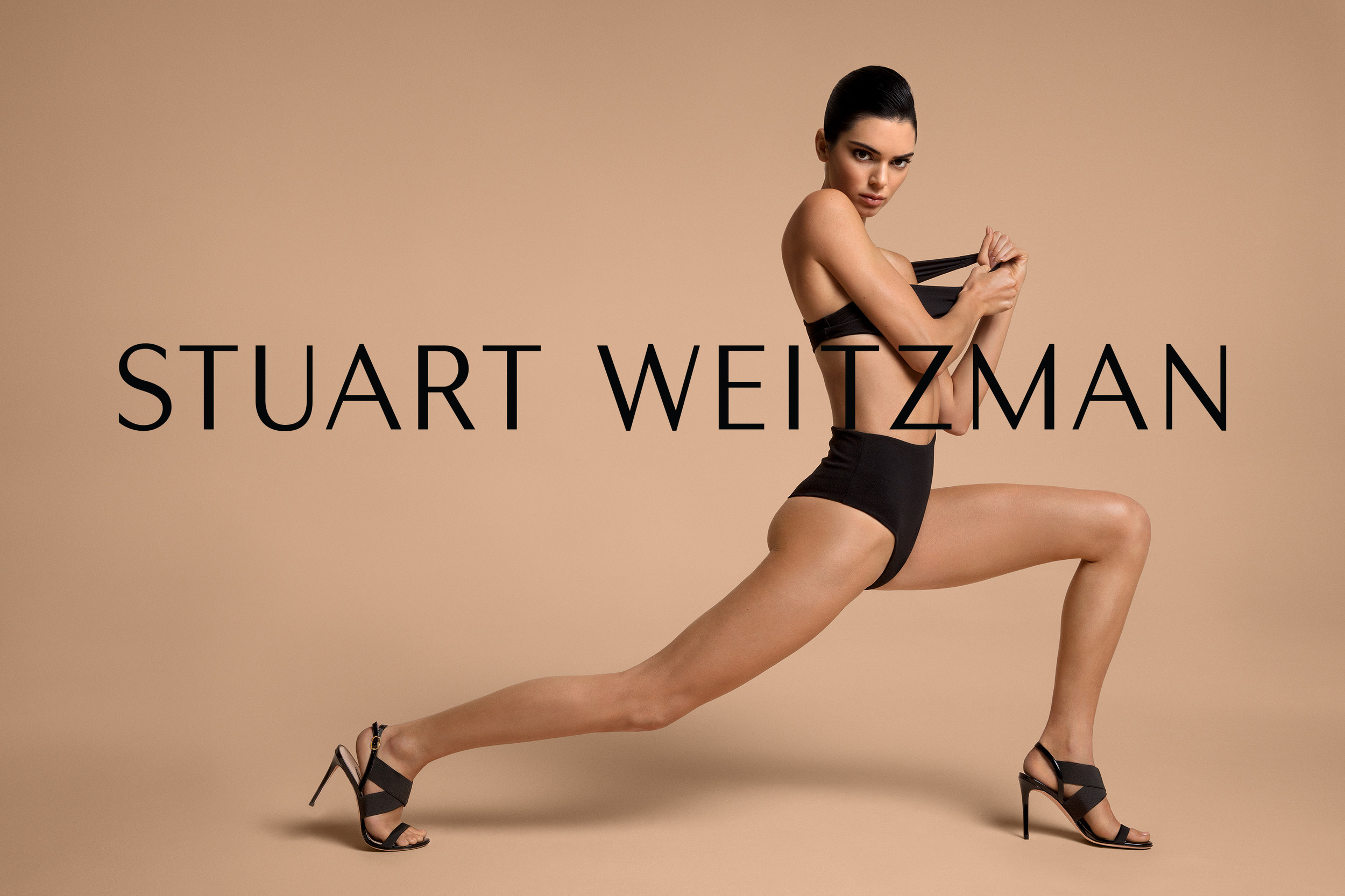 Kendall Jenner Strips Down and Proves How Flexible She Is in Her Latest Campaign