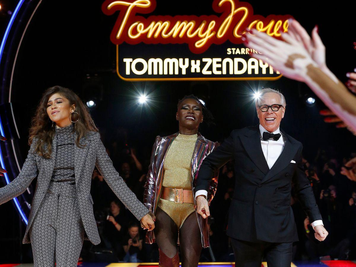 Zendaya Debuts Tommy Hilfiger Collection At Pfw