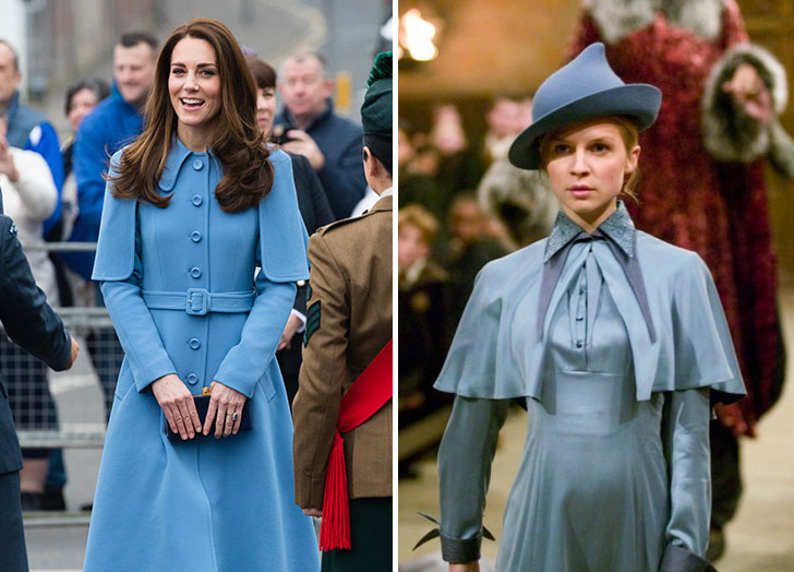Kate Middleton's Latest Outfit Screams 'Harry Potter'