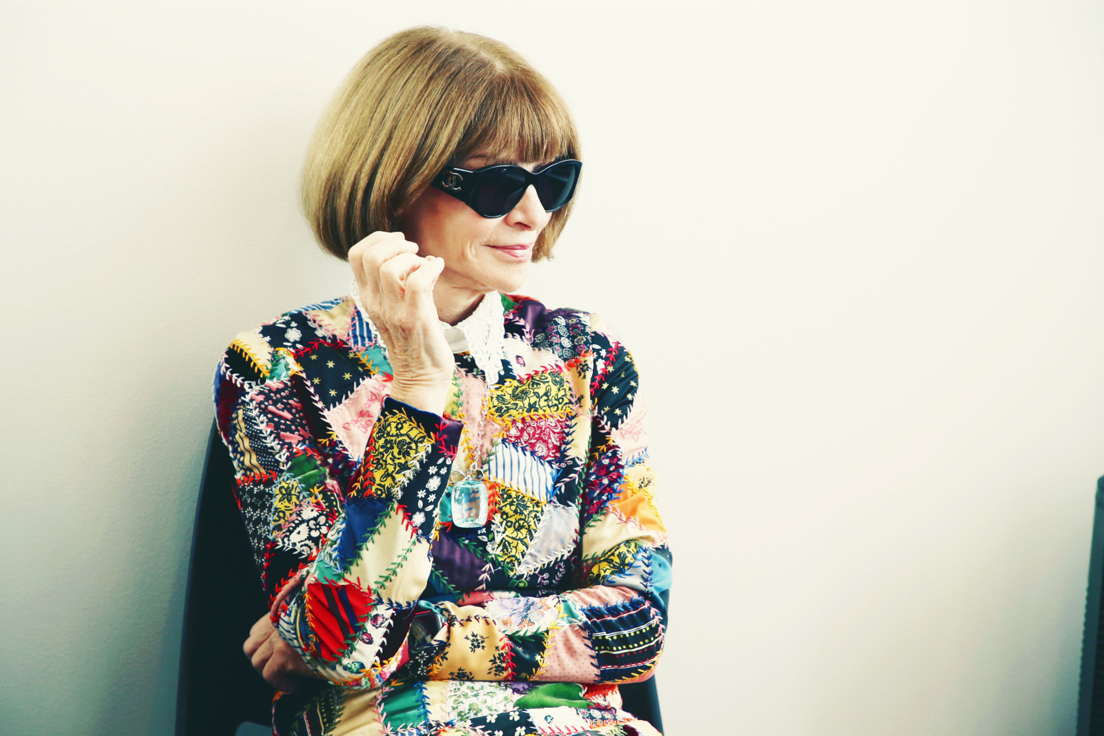 SAN FRANCISCO, CA - OCTOBER 15:  Anna Wintour attends WIRED25 Summit: WIRED Celebrates 25th Anniversary With Tech Icons Of The Past