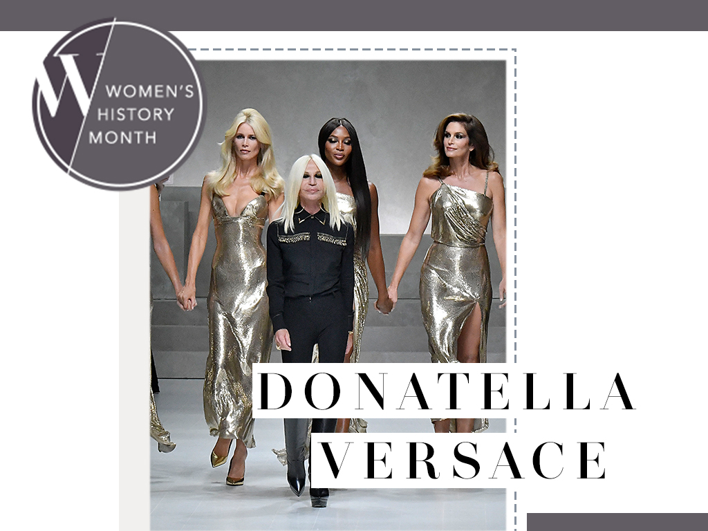 In Honor of Women's Month: A Look at Donatella Versace